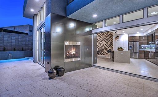 Paz Fireplace